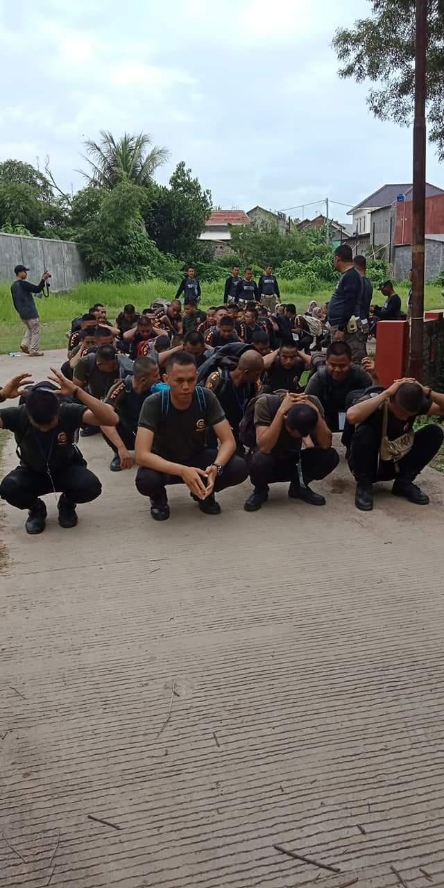 pelatihan anggota satpol pp