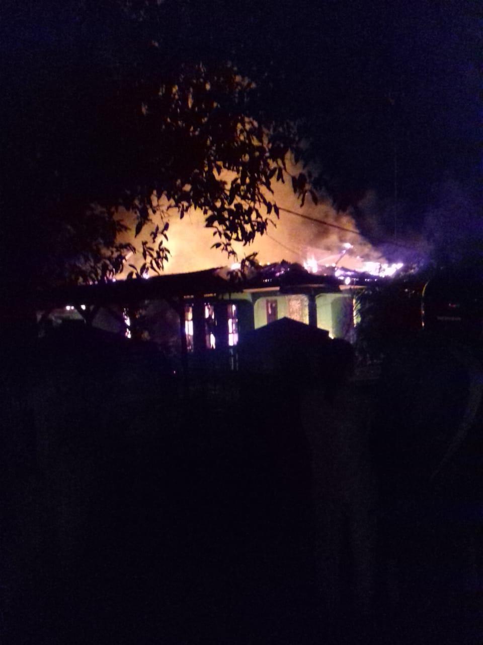 Kebakaran di walantaka