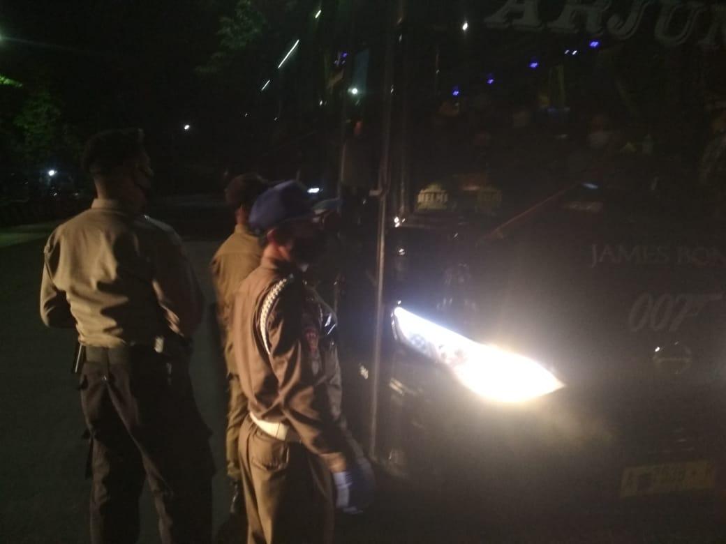 Patroli Gabungan Prokes