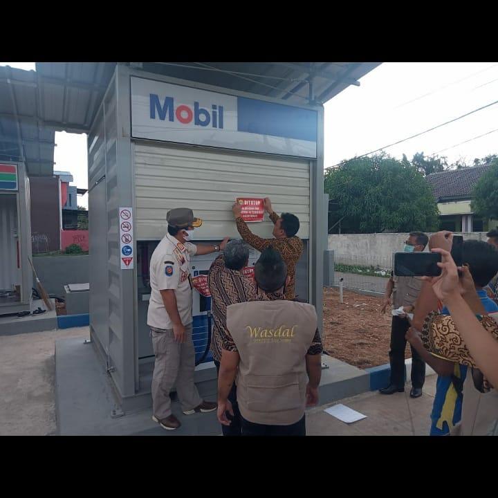 Penutupan Stasiun Pengisian Bensin Umum Mini Indomobil