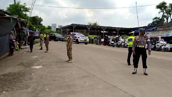 Pengamanan Kunjungan RI 1